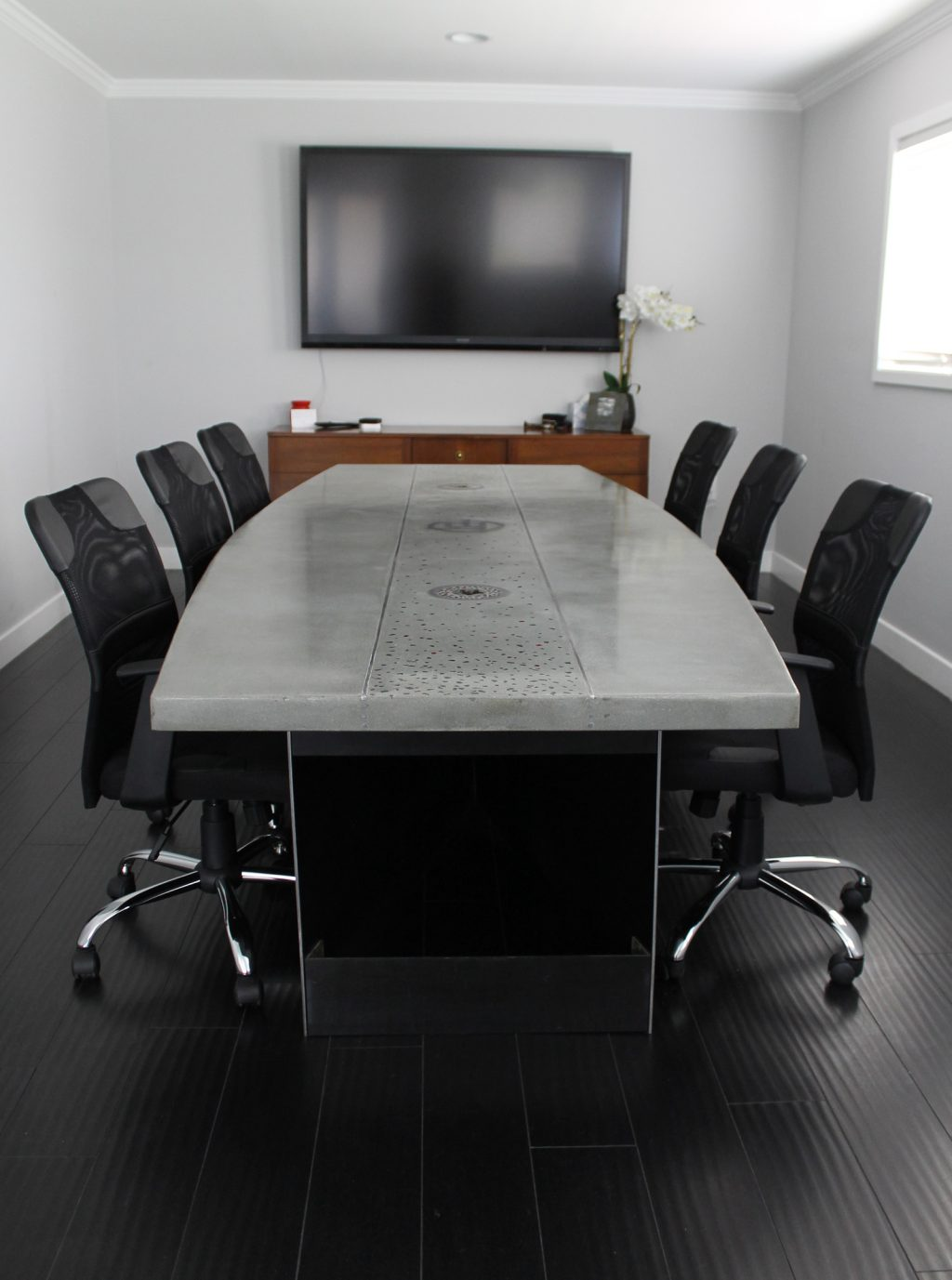CONFERENCE TABLE Sano Studio - Gray conference table